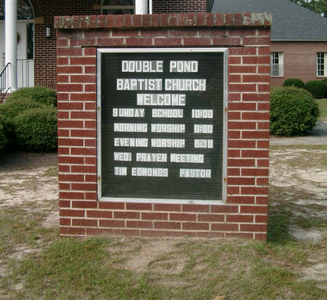Double Pond Baptist Church Cemetery