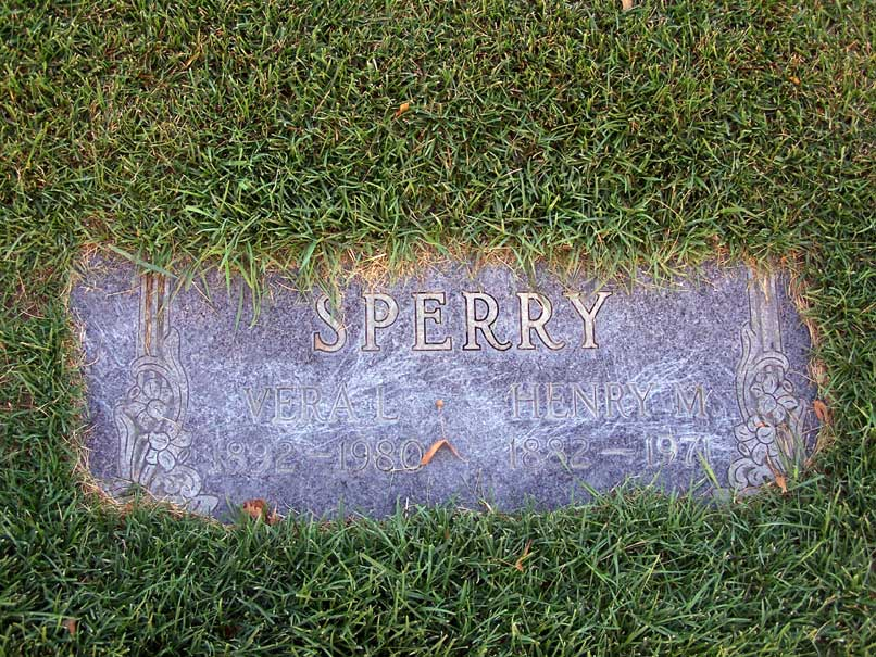 Veral Lucille <i>Daley</i> Sperry