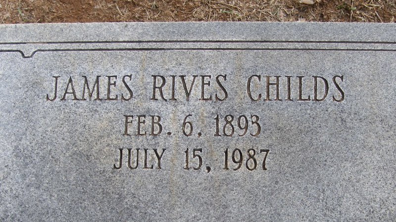 James Rives Childs