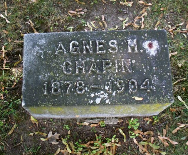 Agnes Hamilton Chapin