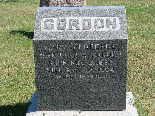 Mary Florence <i>Ludden</i> Gordon