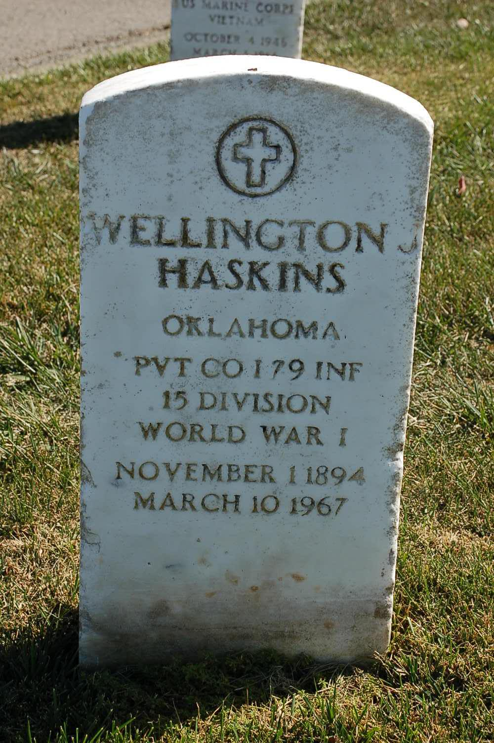 Wellington James Haskins