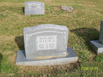 Retta Bell Hicks