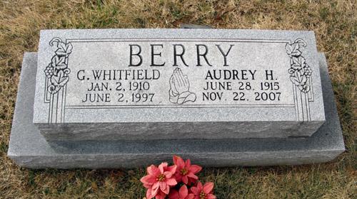 Audrey Marie <i>Hensley</i> Berry