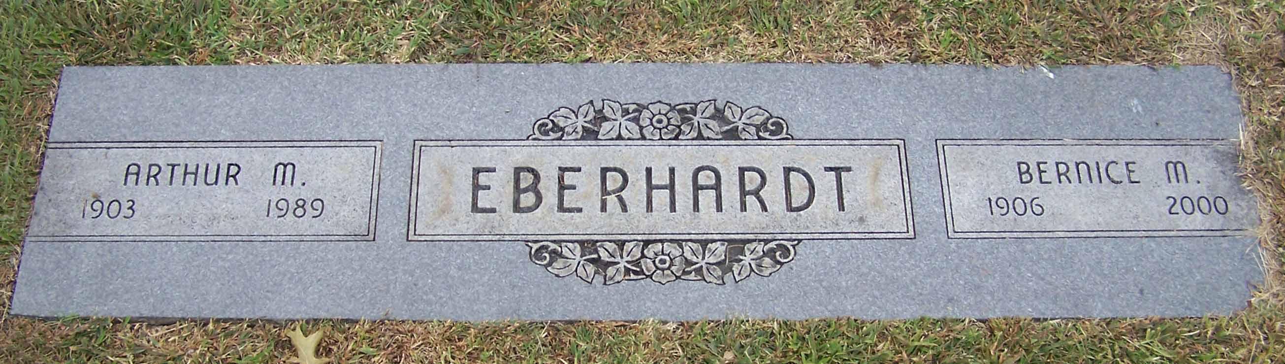 Bernice Gertrude <i>Morton</i> Eberhardt