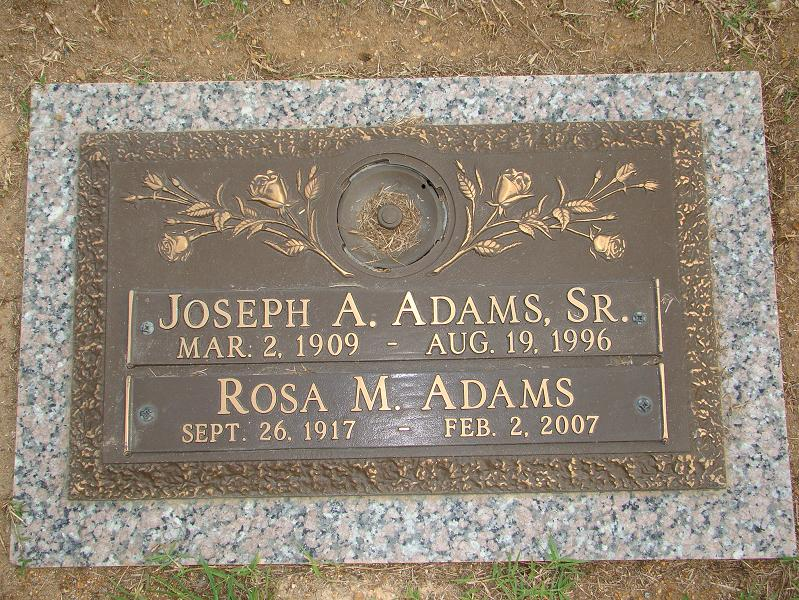 Rosa Marion <i>Rock</i> Adams