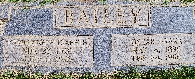 Katherine Elizabeth <i>Patton</i> Bailey