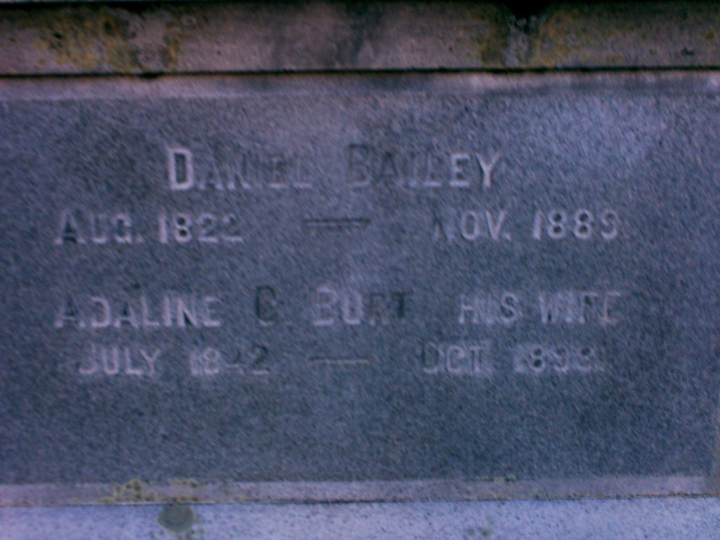 Adaline C. Addie <i>Burt</i> Bailey