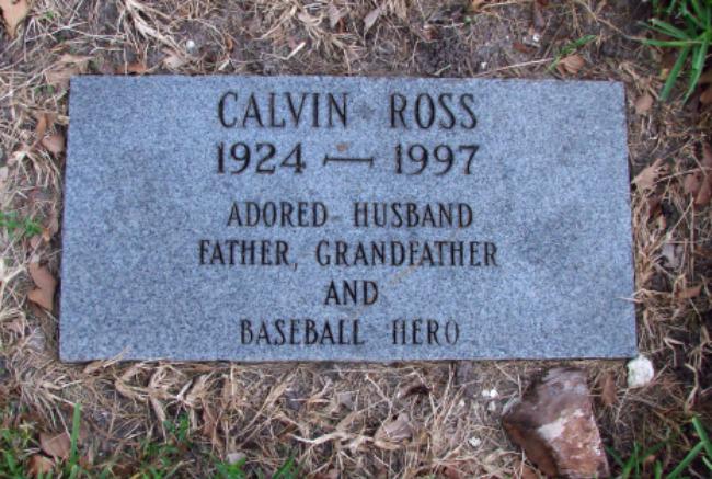 Calvin Ross Cal Abrams