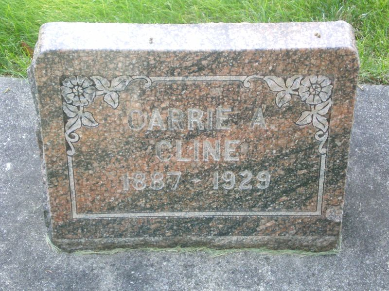 Carrie Cary Augusta <i>Nealy</i> Cline