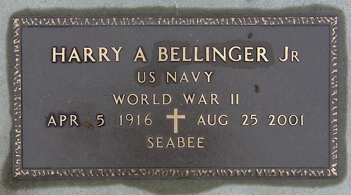 Harry A Bellinger, Jr