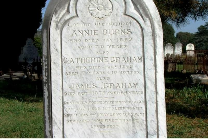 Annie <i>Graham</i> Burns