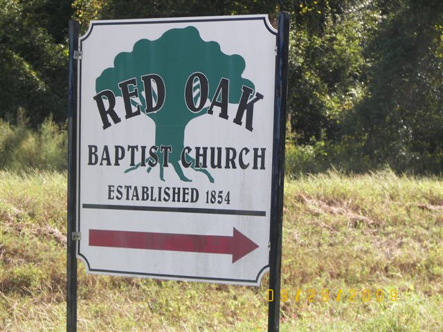 Red Oak Missionary Baptist Church Cemetery