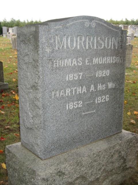 Martha A. <i>Smoke</i> Morrison