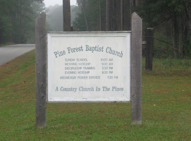 Pine Forest Baptist Church Cemetery