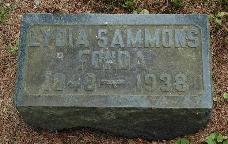 Lydia Gros <i>Sammons</i> Fonda