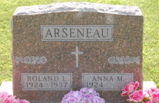 Anna Marie <i>Christian</i> Arseneau