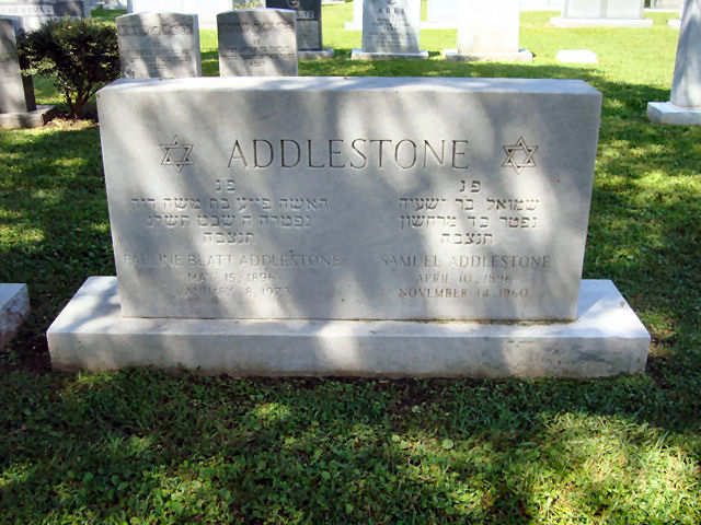 Pauline <i>Blatt</i> Addlestone