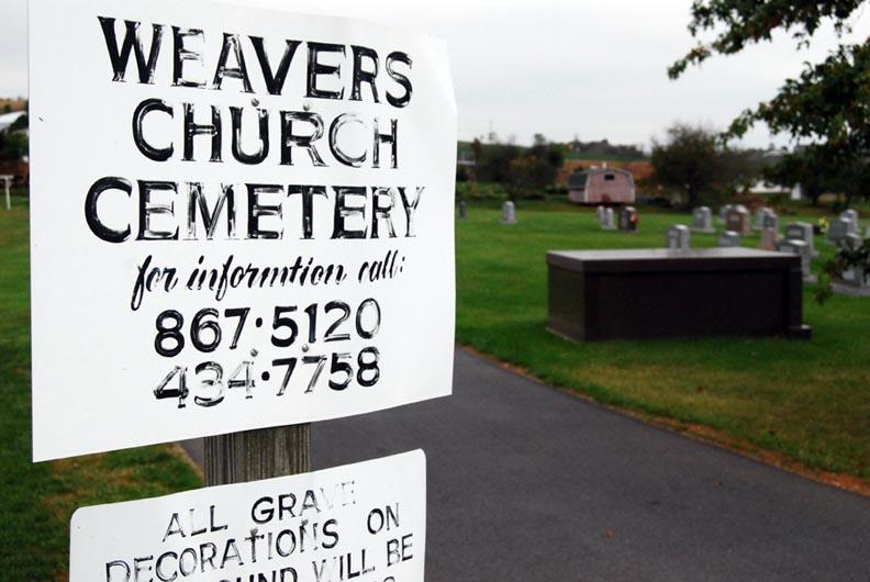 Weavers Mennonite Church Cemetery