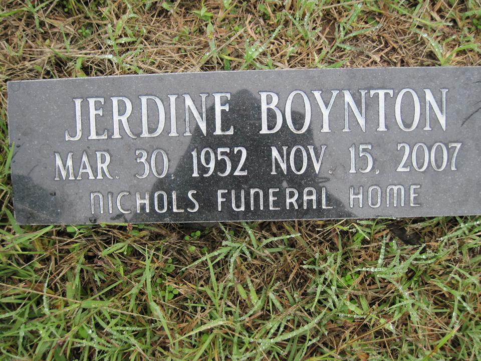 Jerdine Sugar Boynton