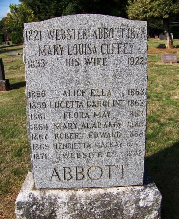 Mary Alabama Minnie Abbott