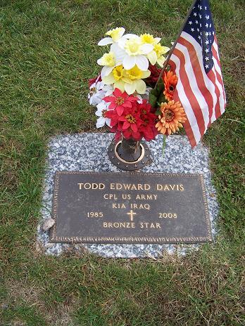 Corp Todd Edward Davis