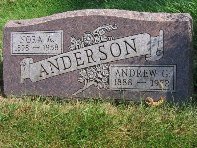 Nora A. <i>Ness</i> Anderson