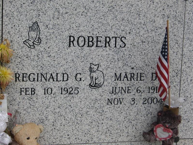Reginald G Roberts
