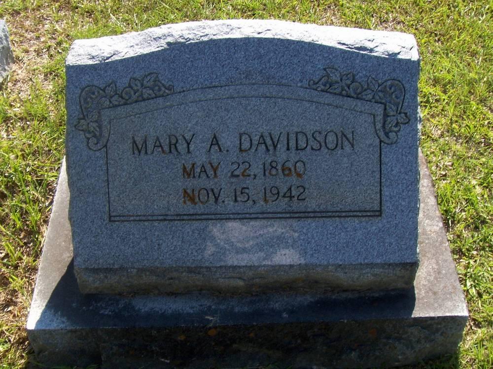 Mary Alston <i>Pickett</i> Davidson