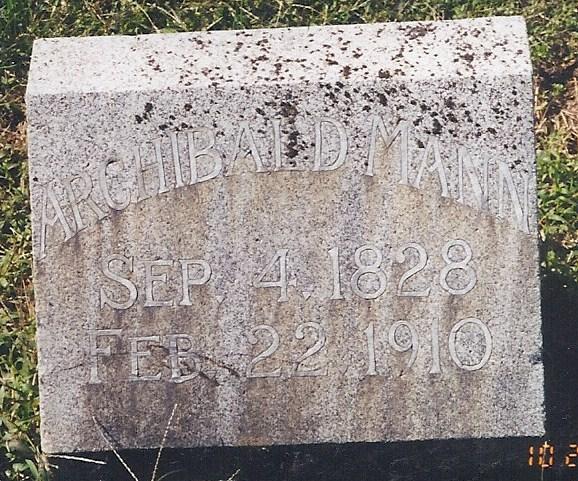 Archibald Mann