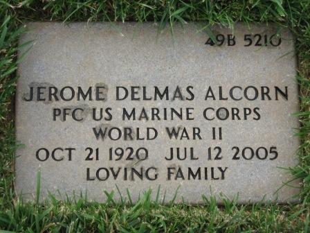 PFC Jerome Delmas Alcorn