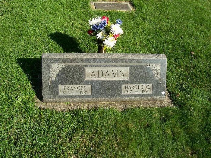Harold C Adams