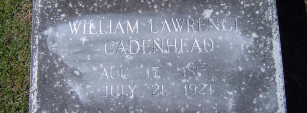 William Lawrence Cadenhead