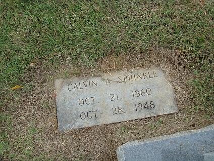 Calvin Alexander Sprinkle