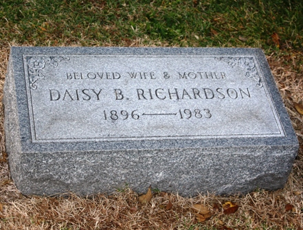 Daisy Mary <i>Beale</i> Richardson