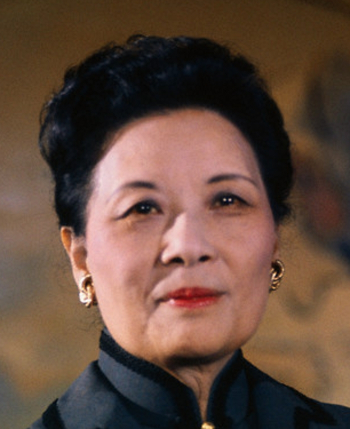 """Mei-Ling """"Madame Chiang"""" Soong Kai-Shek (1898-2003) - Find A Grave ..."""