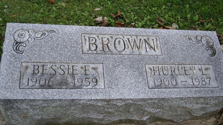 Bessie Elizabeth <i>McClure</i> Brown