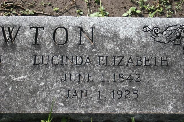 Lucinda Elizabeth <i>Smith</i> Newton