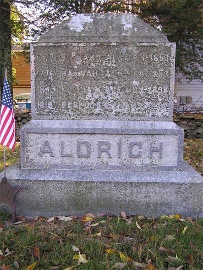 Rebecca Phetteplace <i>Evans</i> Aldrich