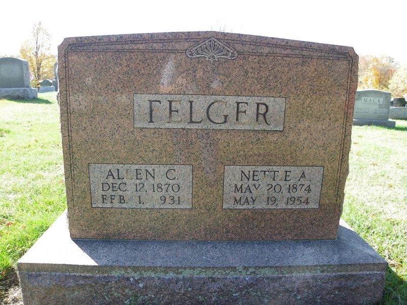 Nettie A. <i>Schafernocker</i> Felger