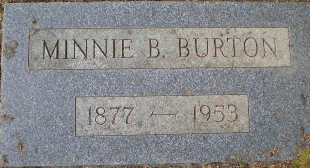 Minnie <i>Blake</i> Burton
