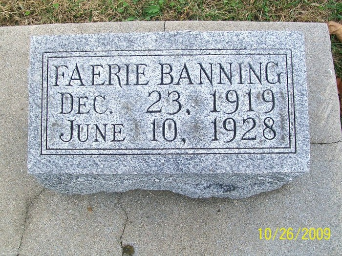 Faerie Banning
