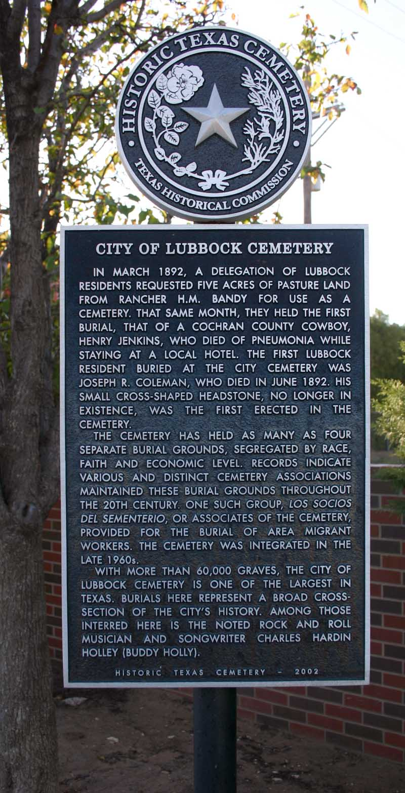 City of Lubbock Cemetery
