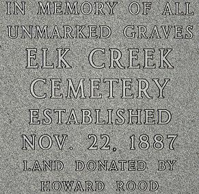 Unmarked Graves Memorial