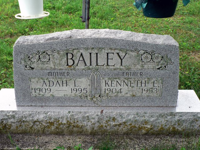 Adah Lucile <i>Caster</i> Bailey