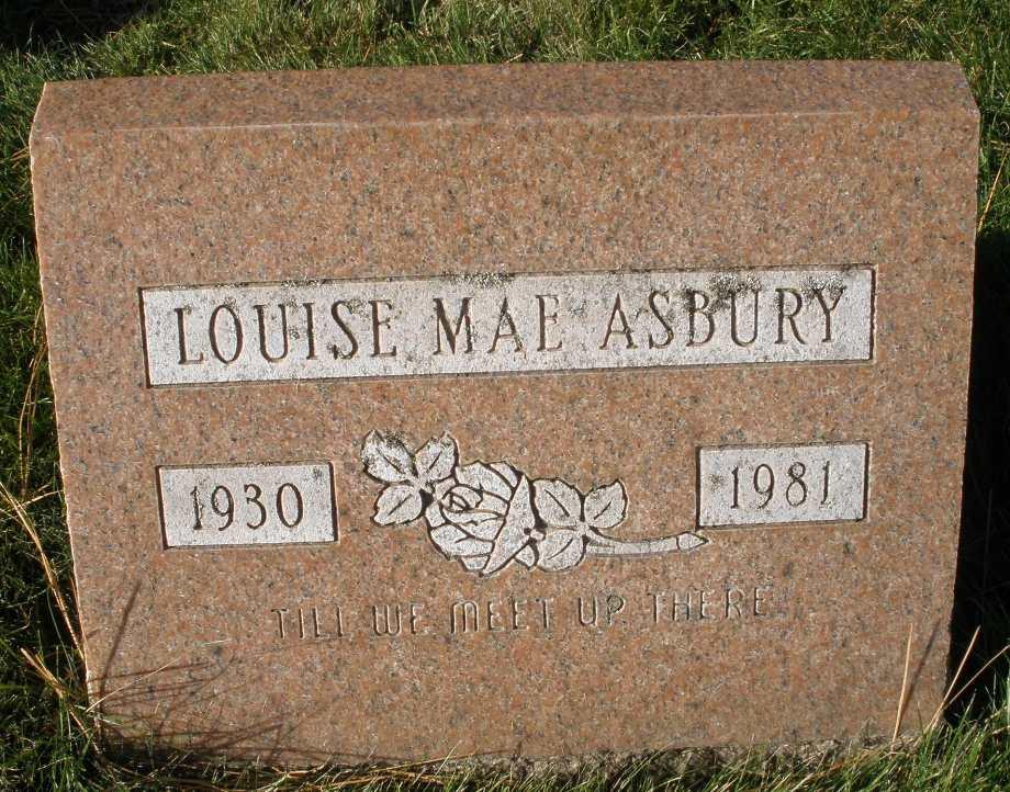 Louise Mae <i>Lowden</i> Asbury