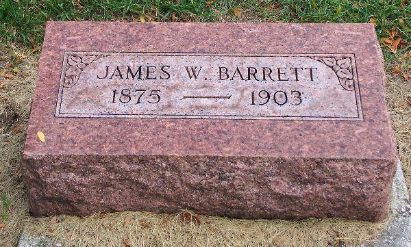 James W Barrett