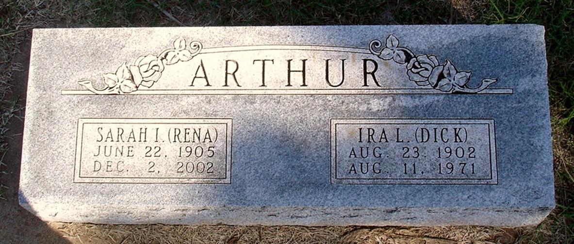 Sarah Irena Rena <i>Veatch</i> Arthur