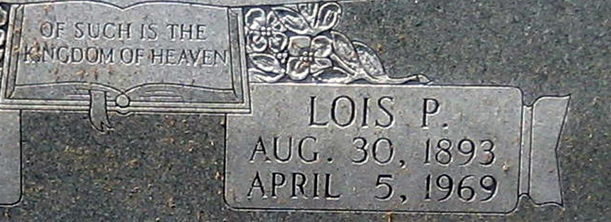 Lois Pearl <i>Hughes</i> Coffey