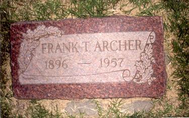 Frank Titmus Archer